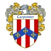 carpenter_coat_of_arms_mantled - Men's Premium T-Shirt