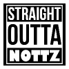 Straight outta nottz - Men's Premium T-Shirt