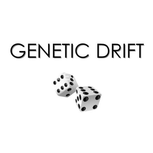 minimalist design genetic drift light background by gerardo