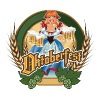 Oktoberfest - Cartoon Pin-up Red Headed German Bee - Men's Premium T-Shirt