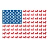 Doxie-USA-FLAG-for-Darks - Men's Premium T-Shirt