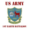 1st Earth Battalion Men Who Stare At goats - Men's Premium T-Shirt