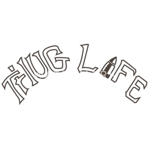 thug life tattoo men u2019s premium t