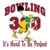 Bowling 300 It's Hard To Be Perfect - Men's Premium T-Shirt