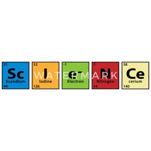 Periodic Table Science By Wickedcool Spreadshirt