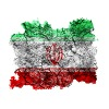 Iran Vintage Flag - Men's Premium T-Shirt