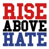 Rise Above Hate - Men's Premium T-Shirt