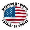 Mexican American Patriot - Men's Premium T-Shirt