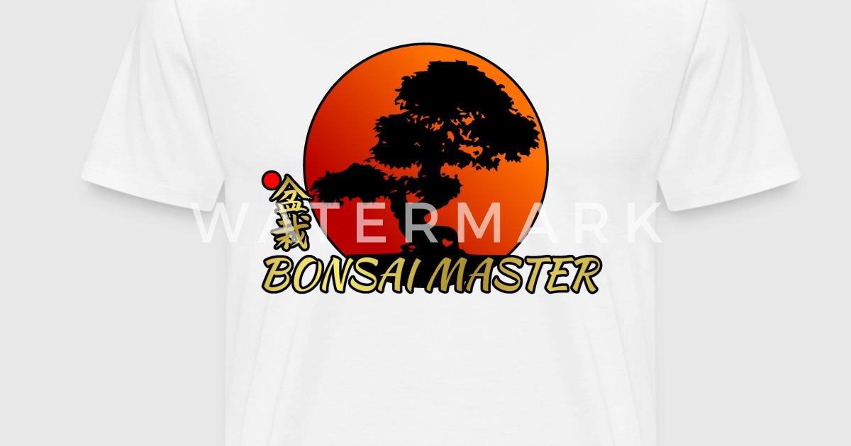 Bonsai master shirt japanese rising sun shirt gift by s for Sun t shirts sunland california