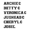 Riverdale - Archie Betty Veronica Jughead Cheryl - Men's Premium T-Shirt