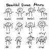 Beautiful Math Dance Moves - Men's Premium T-Shirt
