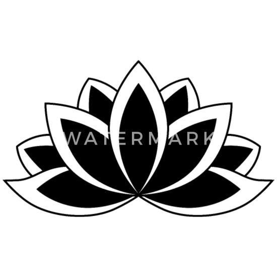 Black Flower Text Symbol - Flowers Healthy