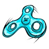 Willow Clothing Fidget Spinner - Men's Premium T-Shirt