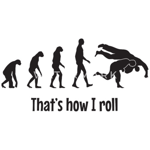 Bjj Thats How I Roll By Spreadshirt