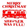 Merry Xmas Shitters Full Christmas Sweater Ugly - Men's Premium T-Shirt