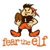 Fear The Elf Hoddie - Men's Premium T-Shirt