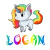 Logan Unicorn - Men's Premium T-Shirt