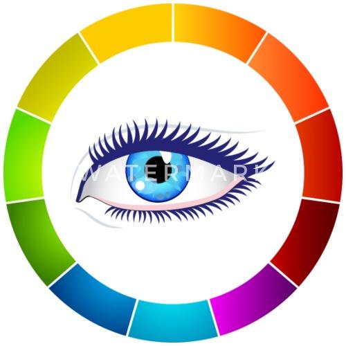 Eye Color Wheel By Shrtdsgn Spreadshirt