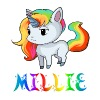 Millie Unicorn - Men's Premium T-Shirt