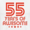 55 Years Of Awesome 55th Birthday - Men's Premium T-Shirt