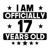 I Am Officially 17 Years Old 17th Birthday - Men's Premium T-Shirt