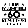 I Am Officially 60 Years Old 60th Birthday - Men's Premium T-Shirt