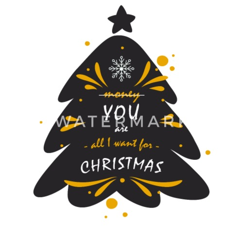 you are all i want for christmas by spreadshirt