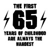 The First 65 Years Of Childhood - Men's Premium T-Shirt
