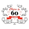 Cheers to 60 years - Men's Premium T-Shirt
