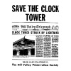 Save The Clock Tower! Back to the Future shirt! - Men's Premium T-Shirt