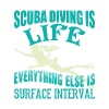 Scuba Diving Is Life Everything Else T Shirt - Men's Premium T-Shirt