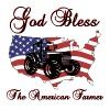 God Bless the American Farmer - Men's Premium T-Shirt