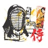 Samurai mask - Men's Premium T-Shirt