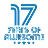 17 Years Of Awesome 17th Birthday - Men's Premium T-Shirt
