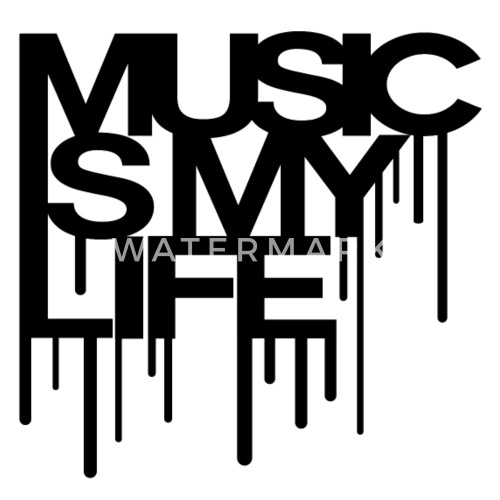 Music Is My Life Mens Premium T Shirt Spreadshirt