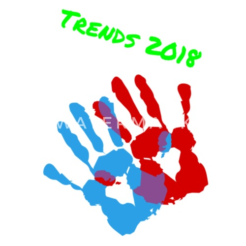 Trends 2018 Hand Style Design T Shirt Men's Premium T