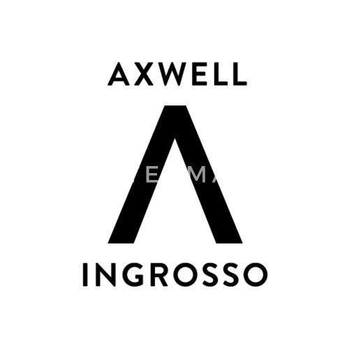 axwell ingrosso black text by johnmartin spreadshirt