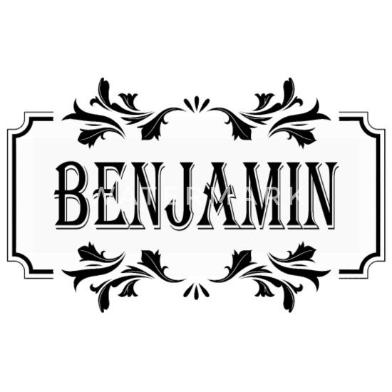 First Name Benjamin Male guy boy man gift idea Men's Premium