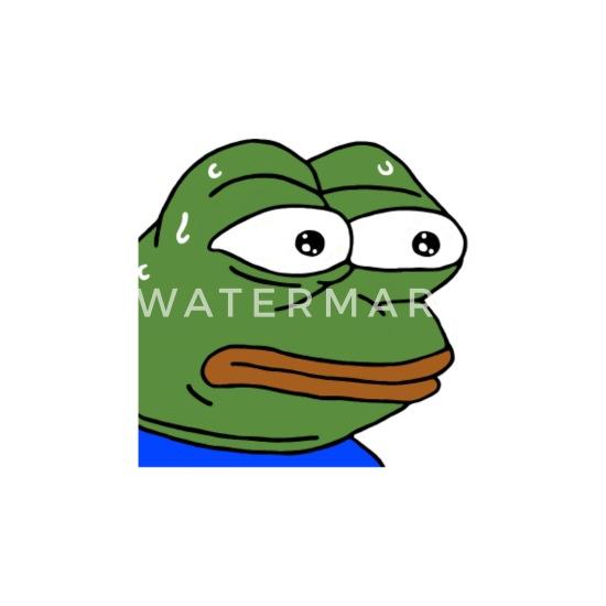 Nervous Pepe - monkaS (Twitch Emote) Men's Premium T-Shirt