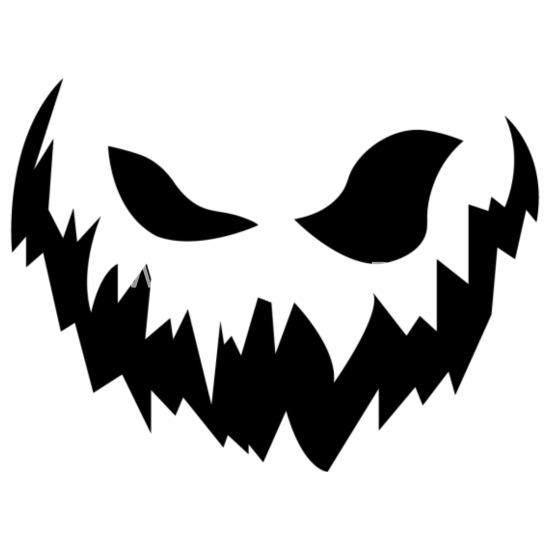 Scary Face Men S Premium T Shirt Spreadshirt