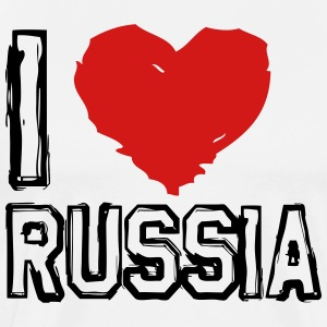I LOVE RUSSIA! - Men's Premium T-Shirt