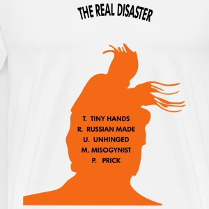 THE REAL DISASTER : T.R.U.M.P - Men's Premium T-Shirt