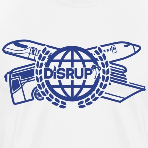 disrupt blue - Men's Premium T-Shirt