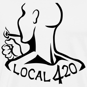 Local 420 Smoker's Union - Men's Premium T-Shirt
