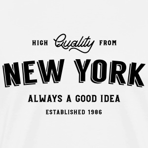 New York - always a good idea - Men's Premium T-Shirt