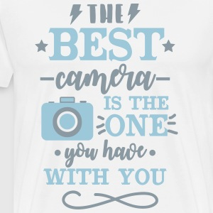 The Best Camera is with You - Men's Premium T-Shirt