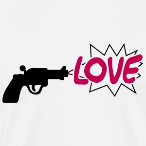 gun with love - Men's Premium T-Shirt