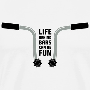 CT70 - Life behind bars can be fun - Men's Premium T-Shirt