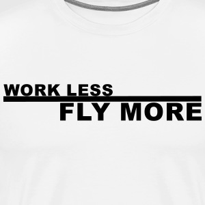 fly more Pilot - Men's Premium T-Shirt