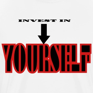 Invest In Self! - Men's Premium T-Shirt